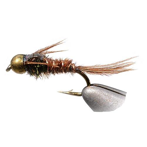 Hand Tied Size 16 Feeder Creek Zug Bug Fly Fishing Nymph Flies