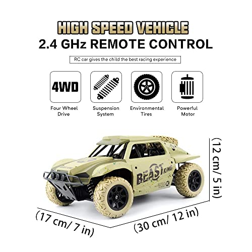 Buy Gizmovine Remote Control Cars 4WD High Speed Vehicle