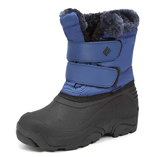 Toddler//Little Kids CIOR Winter Snow Boots for Boy and Girl Outdoor Waterproof with Fur Lined