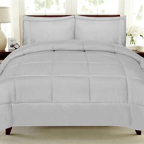 7-Piece Full Comforter Set Soft Bed In A Bag Home Bedroom Bedding Set