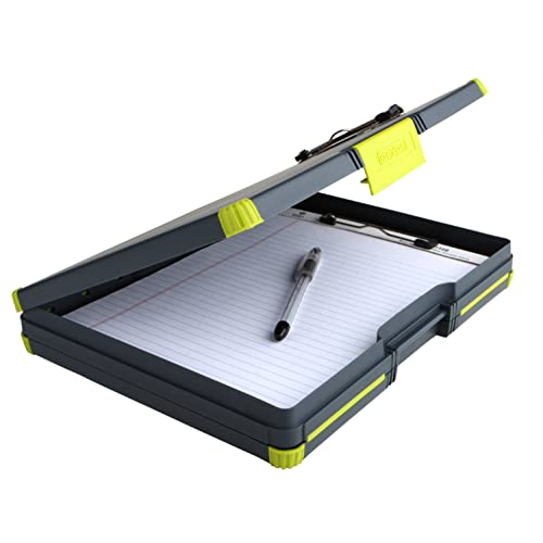 Yellow Dexas Duo Clipcase Dual Sided Storage Case and Organizer