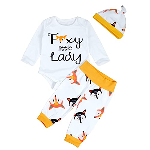 Geagodelia Newborn Toddler Baby Girls Daddy s Little Valentine Clothes 4Pcs Outfit Long Sleeve Romper Pants hat Headband