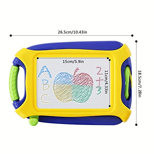 pidien Magnetic Doodle Board Colorful Drawing Tablet for Kids Toddlers Erasable Sketching Pad Toys with Travel Size