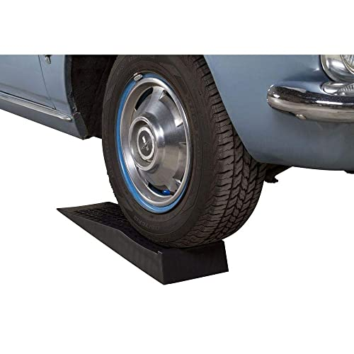 "5.5/"" Inch Tire Lift Trailer Wheel Jack RV Flat Tire Ramp BISupply 1 Pack Tandem Wheel Ramp Concave Portable Ramp"