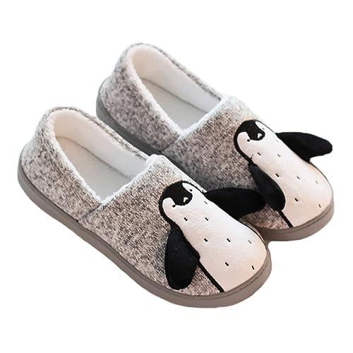 Coolwife Girls Slipper Socks Fleece Lining Christmas Knee Highs Knit Animal Stockings