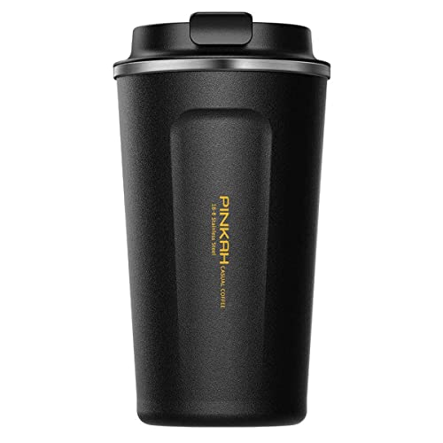 e8b295c7263 Buy 17 oz Coffee to Go Cup/Tumbler/Travel Mug,Double Wall Stainless ...