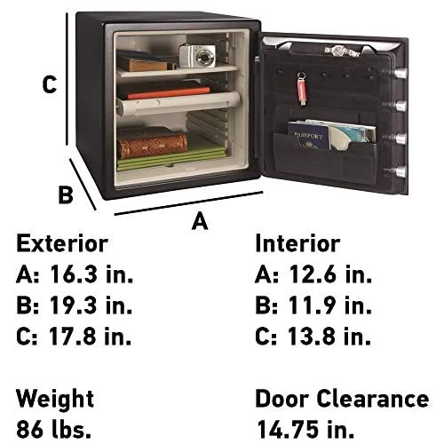 Buy SentrySafe SFW123CU Fireproof Safe and Waterproof Safe