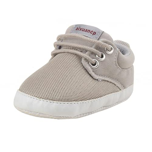 US Stock Sole Newborn Baby Boy Girl Pre-Walker Pram Shoes Trainers 0-18 Months