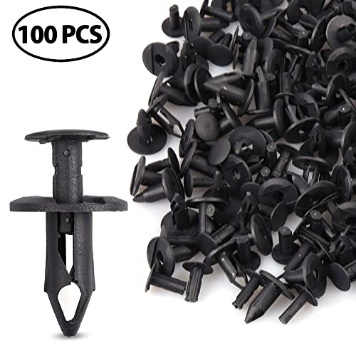 with Plastic Storage Case LotFancy 240PCS Auto Body Clips 8 Common Size Nylon Push Retainer Clips for Honda Ford Toyota GM Chevy Chrysler and More