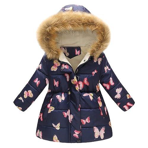 VEKDONE Unisex Baby Fleece Hooded Jacket Outerwear Duffle Winter Coat Zipper