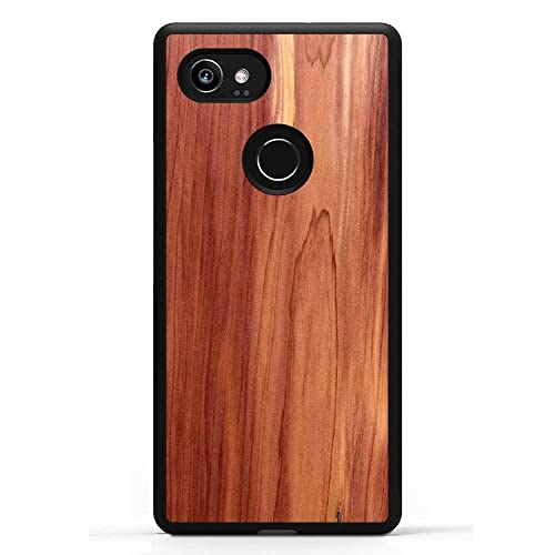 100% authentic 3b488 19ffa Buy Carved Pixel 2 XL Eastern Red Cedar Wood Traveler Protective ...