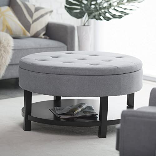 Belham Living Coffee Table Storage Ottoman With Shelf Buy Products Online With Ubuy Kuwait In Affordable Prices B00oxc6lq8
