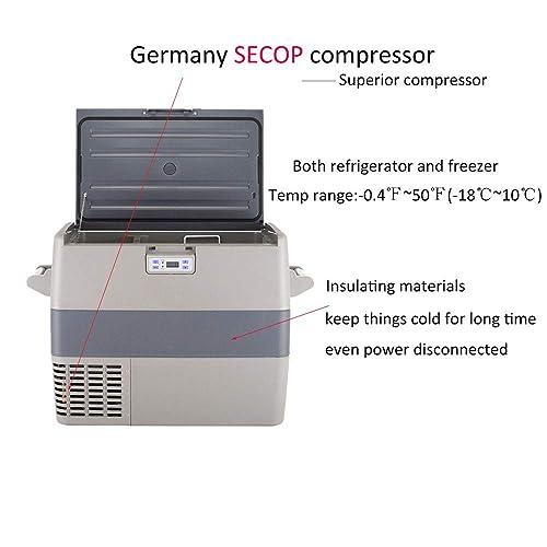 Buy SMETA 43Quarts Portable Refrigerator with Freezer