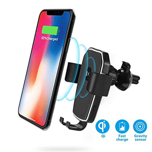 Buy HoHoHoHot Fast Wireless Car Charger Air Vent Phone Mount Holder