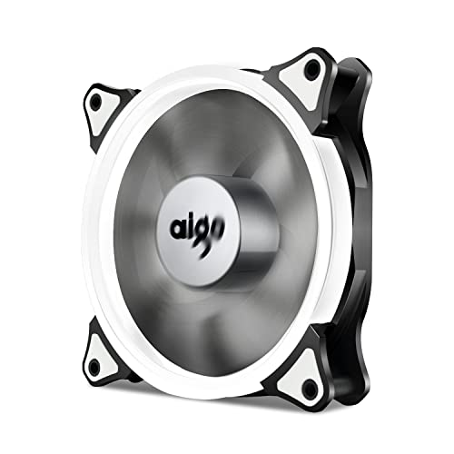 Aigo  Green Halo LED 120mm PC Computer Case Cooling Neon Quite Clear Fan Mod