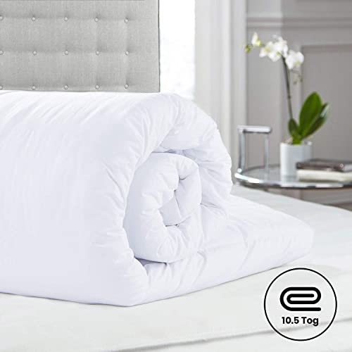 MADE IN UK Lancashire Textiles DOUBLE Anti Allergy 10.5 Tog Duvets