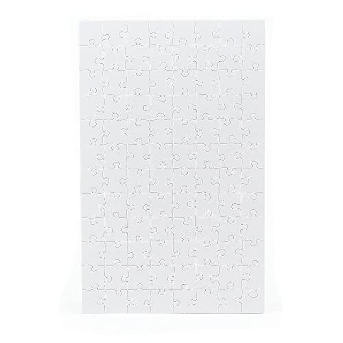 96 Pieces 10 x 16 Inch Hygloss Products Blank Jigsaw Puzzle Compoz-A-Puzzle 4 Puzzles with Envelopes 96511