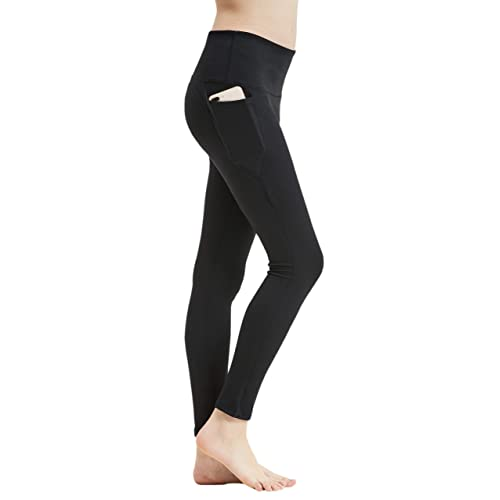 AthFit Womens High Waist Yoga Pants Tummy Control Workout Leggings for Running Jogging Sport Fitness Gym