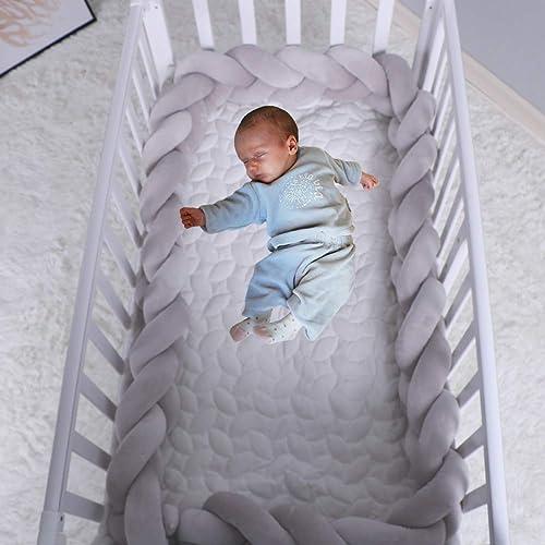 79 Toddler Crib Bumper Pillow Sleep Bumper Unisex Multipurpose For Mother and Child Nursery Cradle Decor Newborn Gift Long Bumper Snake