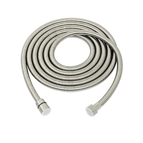 5FT Shower Hose Brushed Extra Long Stainless Steel Handheld Extension US