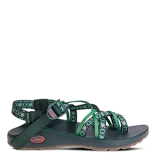 CHACO ZCLOUD X2  Cushioned Sport Sandals   Womens 7 M  NEW  Kelp Knit