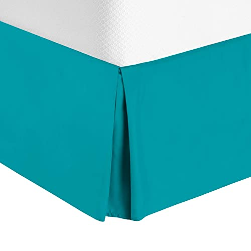 High-End/… Black Modern Dust Ruffle Shop Bedding Tailored Velvet Bed Skirt with Split Corner 14inch Drop-Twin