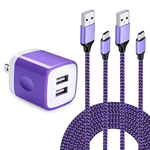 USB Type C Charger Cable for Google Pixel 4//4XL,3a//3a XL,HUHUTa 5 Pack USB-C Fast Charging Cords for LG Stylo 5,Moto G7 G8 Plus//G7 G8 Play,Samsung Galaxy S20 Note 10 and More