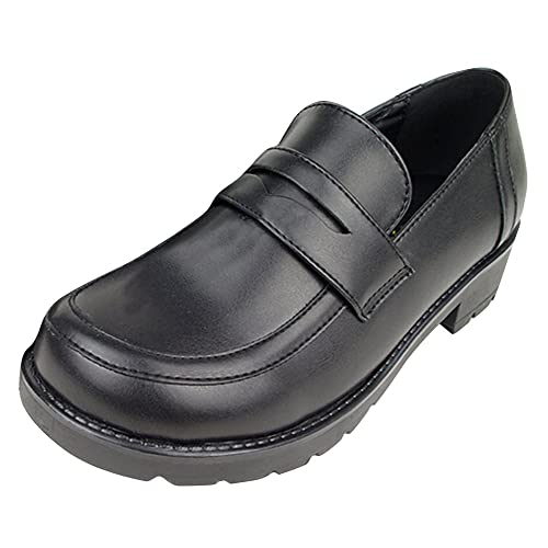Women's Girl's Lolita Low Top Japanese Students Maid Uniform Dress Shoes  Oxford Shoes | Buy Products Online with Ubuy Kuwait in Affordable Prices.  B01DXSLA1S