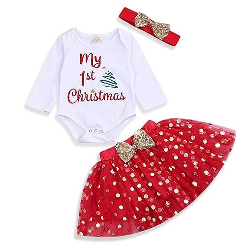 Thanksgiving Outfit Newborn Baby Girl My First Thanksgiving Pumpkin Romper Tutu Skirt 3Pcs Clothes Set