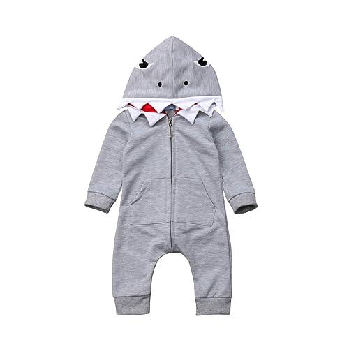 YFYBaby Baby Boys Unisex Pajamas Rabbit Print Long-Sleeve Jumpsuit Organic Pajamas