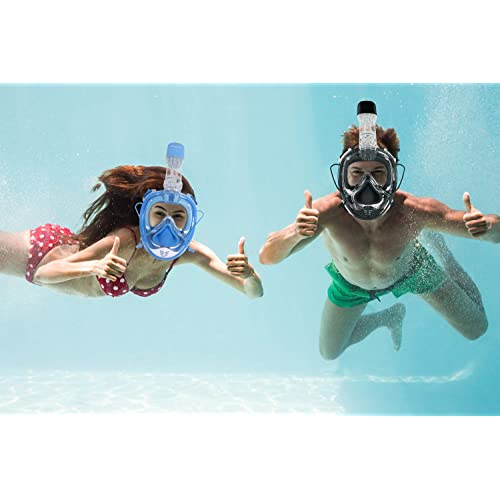 Unigear 180° Full Face Snorkel Mask Panoramic View With Detachable For Camera