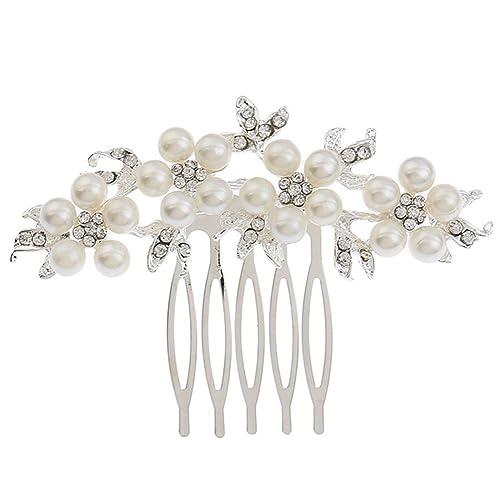 Crystal Headpiece Gobesty Princess Crystal Tiara Crown Headband Bridal Rhinestone Headpiece Crystal Wedding Hair Tiara Silver