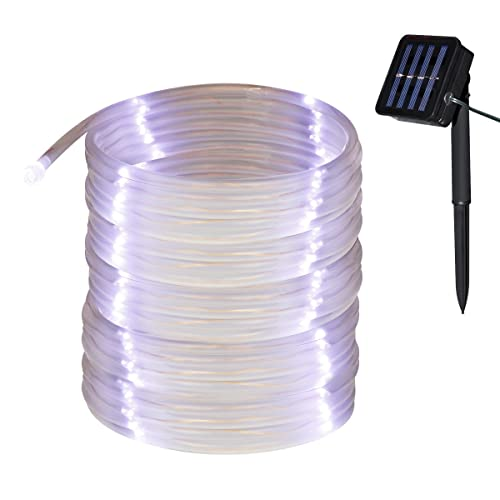 BlueFire Solar Rope Lights 12M//39ft 100 LEDs Automatically Turn ON//OFF 2 Modes