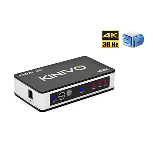 Buy Kinivo 301BN 3-Port High Speed 4K HDMI Switch With IR Wireless