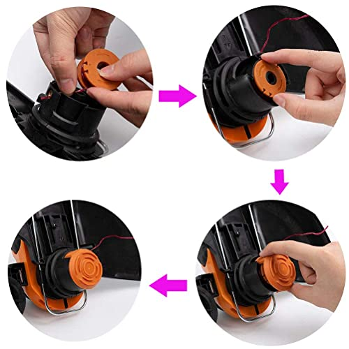 Werkzeuge Trimmer Spule Reparatur Für WORX GT Rasentrimmer WA0010 WA6531