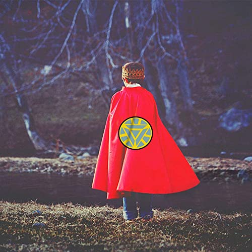 Best Gifts WIKI Fun Cool Cartoon Satin Capes for Kids