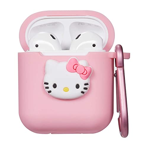 Pink Kitty Airpod Case For Apple Airpods 1 2 Cute 3d Funny Cartoon