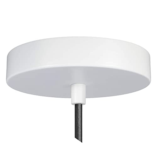 Buy Flea Market Rx 5 Inch Pendant Canopy Kit With Lamp Cord Strain Relief Ceiling Light Cover Plate All Mounting Hardware For Hanging Style Lighting Fixtures 25 Lb Rated Made In