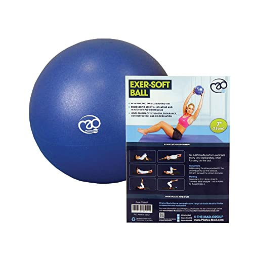 Over Ball with Straw Beenax Soft Pilates Ball Mini Gym Exercise Ball for /&