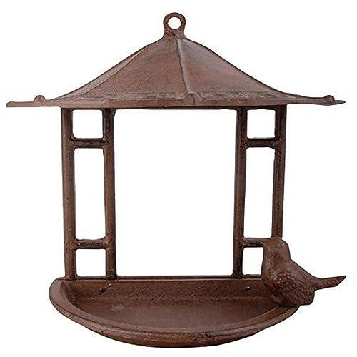 Buy Esschert Design Usa Fb203 Cast Iron Wall Mount Bird Feeder Online In Kuwait B004ulc3ka