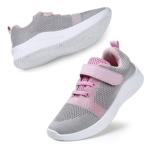 Kids Boys Girls Running Shoes Sports Trainers Sneakers UK Kid School Breathable