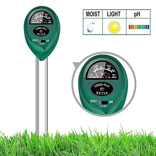 Censinda Soil Moisture Meter,Garden Moisture Sensor Hygrometer Soil Water Monitor for Farm//Lawn//Indoor//Outdoor Plants