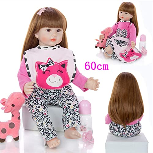 Simulated Baby Silicone Body Doll Realistic Newborn Doll Kids Education Toy KW