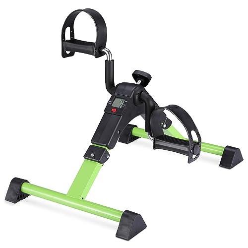 Mini Cycle Exercise for Leg//Arm Pedder YOSUDA Under Desk Bike Pedal Exerciser
