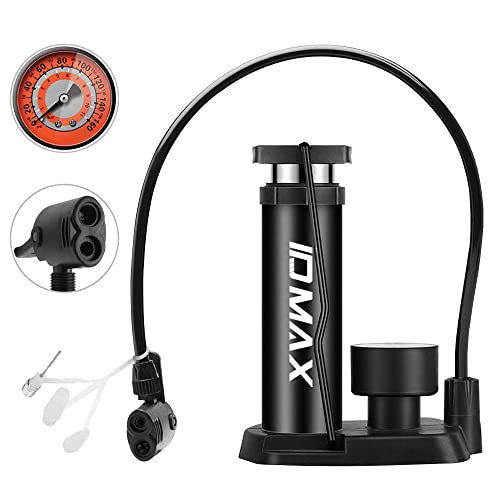 Mini Hand Air Pump Inflator for Bicycle Bike Cycling Tire w// Frame Mounting Kit