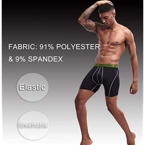 L/&K 10 Pack Mens Designer Boxer Shorts Boxers Underwear Trunks Gift Set 1102