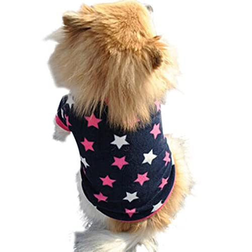 Howstar Pet Outfit Puppy Winter Warm Clothes Leopard Soft Hoodie Coat