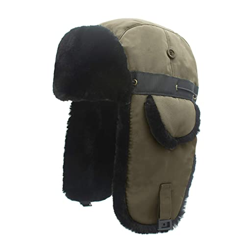 QingFang Unisex Beanie Hats Skullcap Polar Fleece Skullies Cap Cotton Liner Men and Women Winter Hat