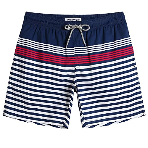 Mens Casual Swim Trunks My 1st St Patricks Day Clover Ornament Beach Shorts with Elastic Waist