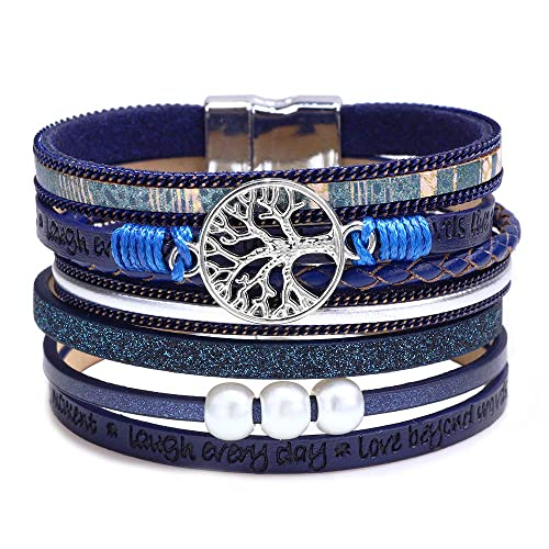 Buy Bangle Wrap Bracelets For Women Multilayer Bracelets Boho With Beads Gift Ideas For Teen Girls Online In Kuwait B07nztd9xv
